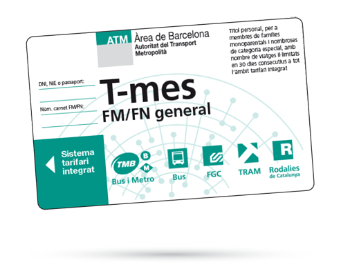 Targeta T-Mes FM/FN GEN